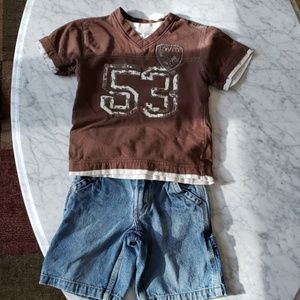 Boys 3T Levi's outfit